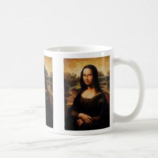 Caneca De Café A Mona Lisa por Leonardo da Vinci