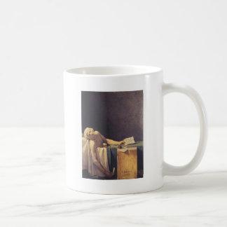 Caneca De Café A morte de Marat