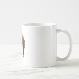 CANECA DE CAFÉ A MOSTRA COLORIDA