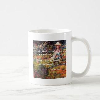 Caneca De Café A natureza no art. de Monet