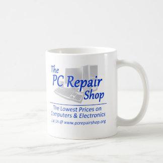 Caneca De Café A oficina de reparações do PC