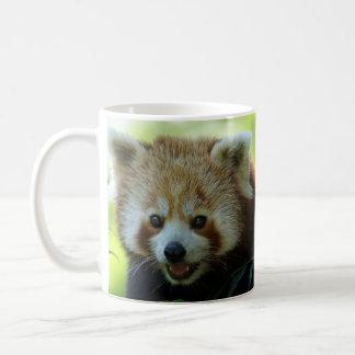 Caneca De Café A panda vermelha está acordada!