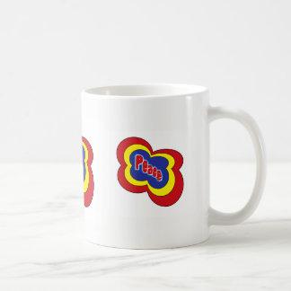 Caneca De Café A paz é meu copo do chá!