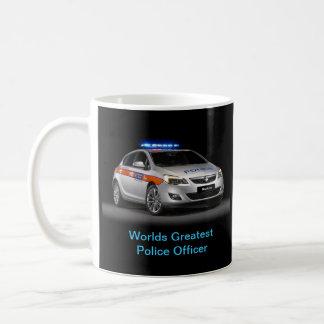 Caneca De Café A polícia agride
