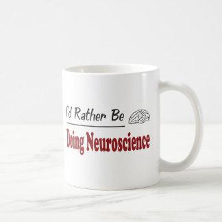 Caneca De Café A preferencialmente esteja fazendo a neurociência