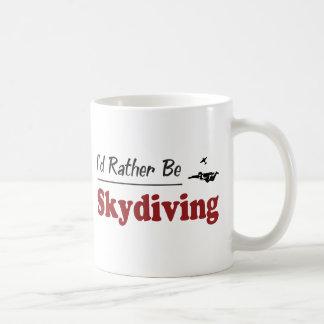Caneca De Café A preferencialmente seja Skydiving