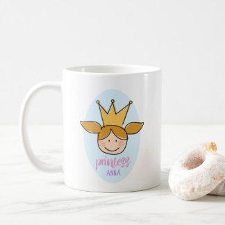Caneca De Café A princesa pequena bonita - princesa Anna