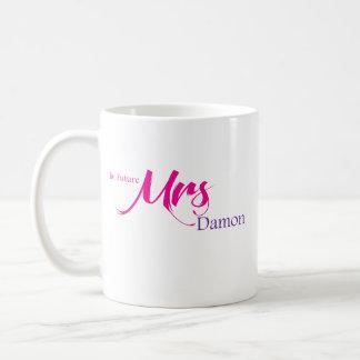Caneca De Café A Sra. futura Damon