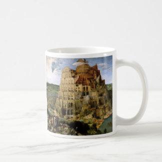 Caneca De Café A torre de Babel