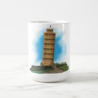 Caneca De Café A torre inclinada de Pisa