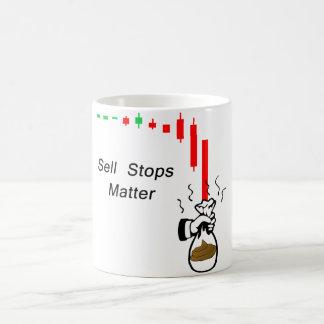 Caneca De Café A venda para a matéria: Não mantenha seu estoque