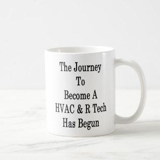 Caneca De Café A viagem a transformar-se uma tecnologia da ATAC R