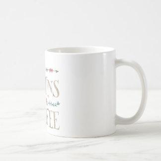 Caneca De Café A vida começa após o café