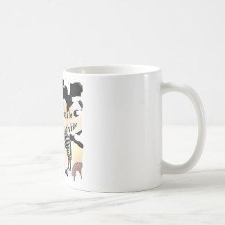 Caneca De Café A vida pode ser preto e branco