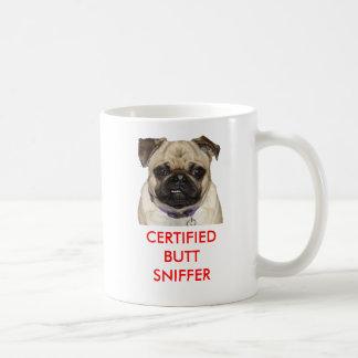 Caneca De Café A voz dos Pugs, tubo aspirador certificado do