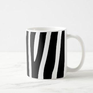 Caneca De Café A zebra listra o teste padrão