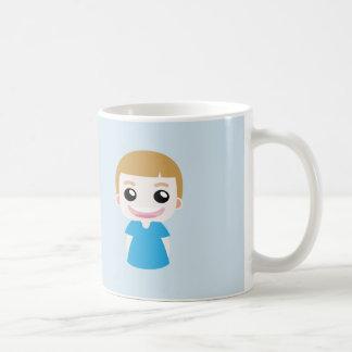 """Caneca De Café Aaron um miúdo engraçado que diz """"eu estou feliz """""""