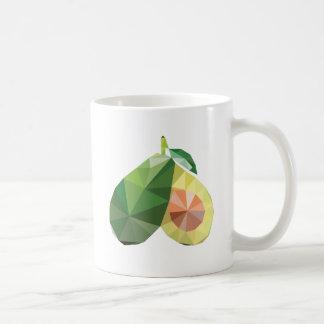 Caneca De Café Abacate geométrico