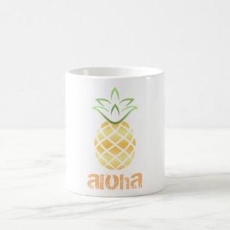 Caneca De Café Abacaxi Aloha Havaí!
