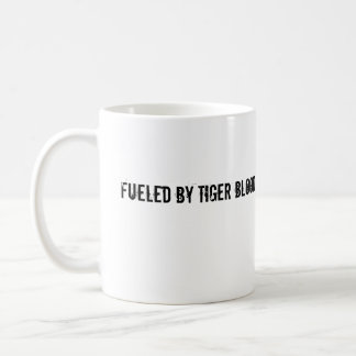 Caneca De Café Abastecido pelo sangue do tigre