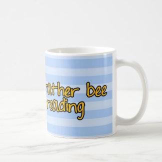 Caneca De Café abelha de trabalhador - bibliotecário
