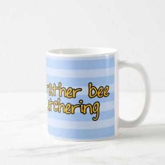Caneca De Café abelha de trabalhador - carniceiro