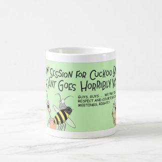Caneca De Café Abelha do cuco e a formiga louca