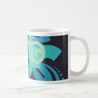 Caneca De Café Abstracção dois Poseidon