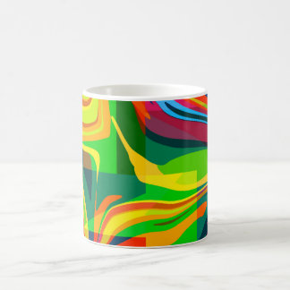 Caneca De Café Abstrato dinâmico