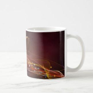 Caneca De Café Abstrato do universo das estrelas das bolhas