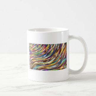 Caneca De Café Abstrato ondulado