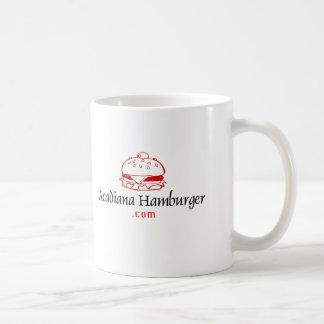 Caneca De Café Acadianahamburger.com que vende produtos