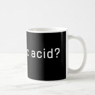 Caneca De Café Ácido láctico obtido? Design engraçado do corredor