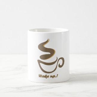 Caneca De Café acorde com um café