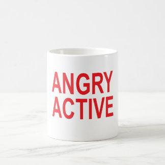 Caneca De Café Active irritado