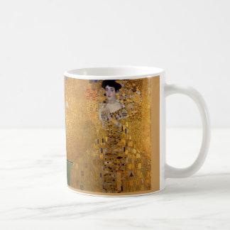 Caneca De Café Adele, senhora no ouro - Gustavo Klimt