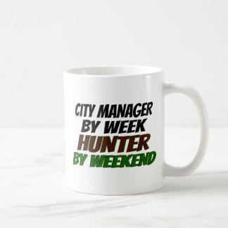 Caneca De Café Administrador municipal do caçador