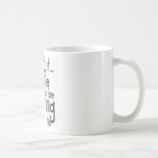 Caneca De Café Admita-o… Vida…