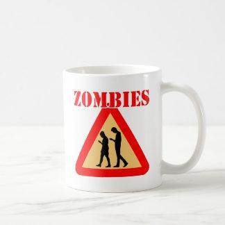 Caneca De Café Adolescentes do zombi com telemóveis