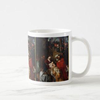 Caneca De Café Adoração do Magi|Peter Paul Rubens