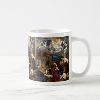 Caneca De Café Adoração do Shepherds|Juan Bautista Maino
