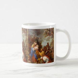 Caneca De Café Adoração dos reis | Giuseppe Chiari