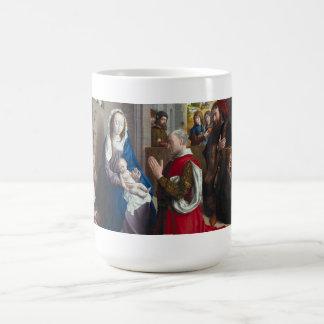 Caneca De Café Adoração dos reis | Hugo van der Goes