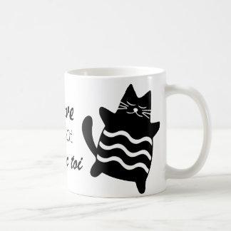 Caneca De Café Adoro ser um gato