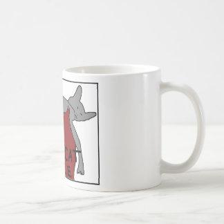 Caneca De Café Afago bonito do gato
