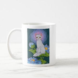 Caneca De Café Afirmação de Oracle dos gatos da fantasia -