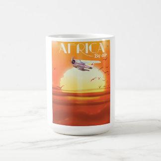 Caneca De Café África pelo ar