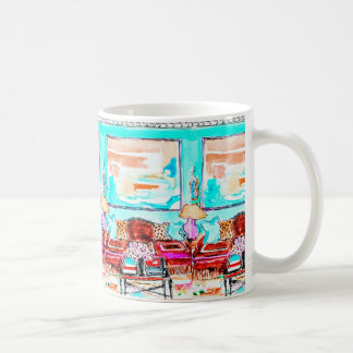 Caneca De Café Agrida para o café, chá com vinheta da sala de