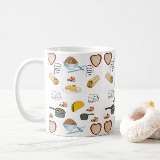 Caneca De Café agride feijões do arroz
