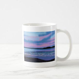 Caneca De Café Água azul de cristal